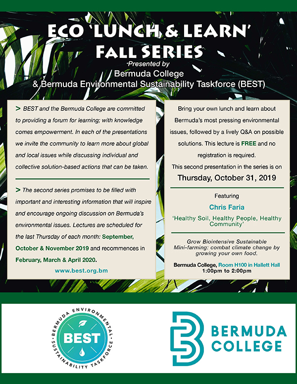 Eco Lunch & Learn II Bermuda Oct 2019 (2)