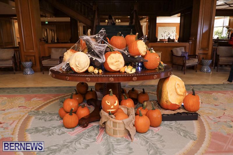 Fairmont Southampton Pumpkin Carving Bermuda Oct 2019 (1)