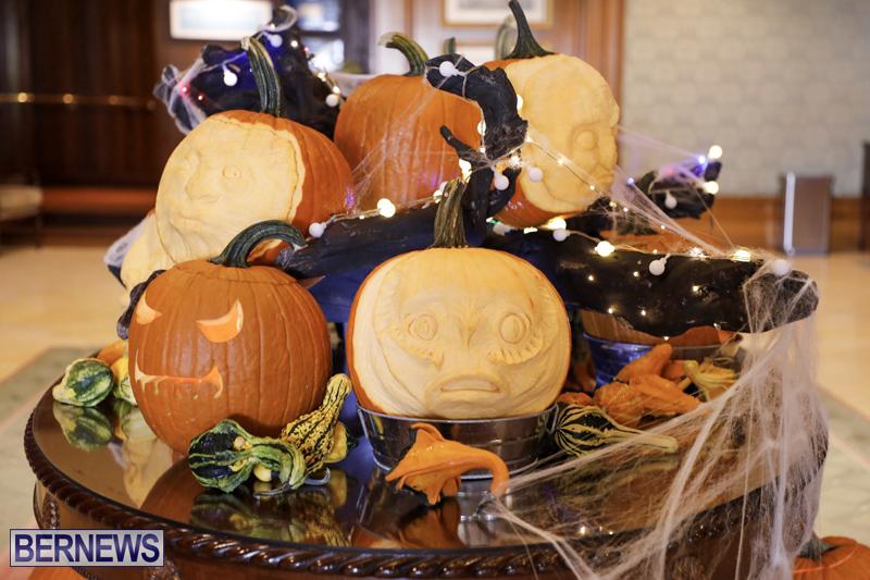 Fairmont Southampton Pumpkin Carving Bermuda Oct 2019 (12)