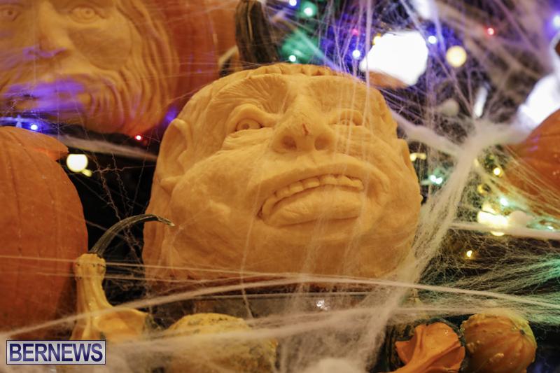 Fairmont Southampton Pumpkin Carving Bermuda Oct 2019 (15)