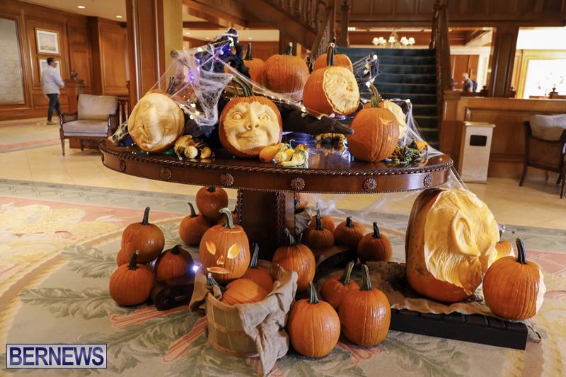 Fairmont Southampton Pumpkin Carving Bermuda Oct 2019 (16)