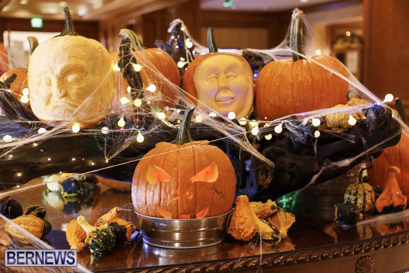 Fairmont Southampton Pumpkin Carving Bermuda Oct 2019 (17)