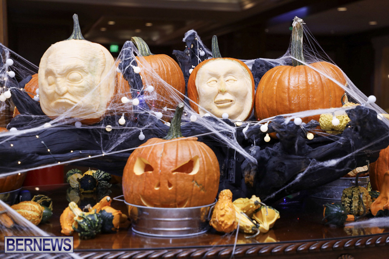 Fairmont Southampton Pumpkin Carving Bermuda Oct 2019 (5)