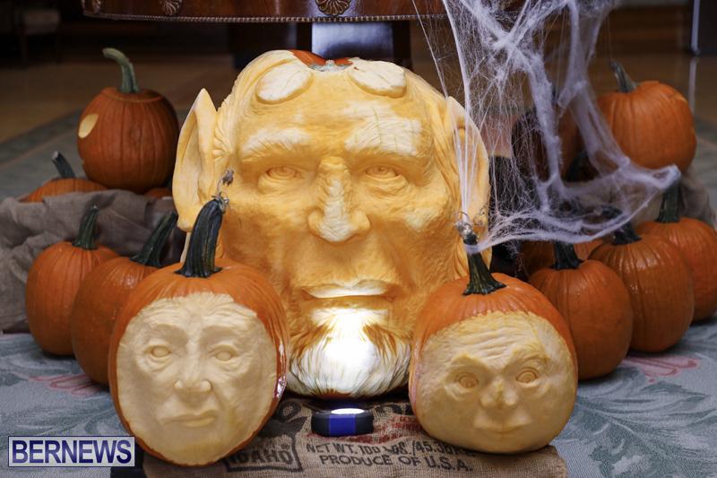 Fairmont Southampton Pumpkin Carving Bermuda Oct 2019 (7)