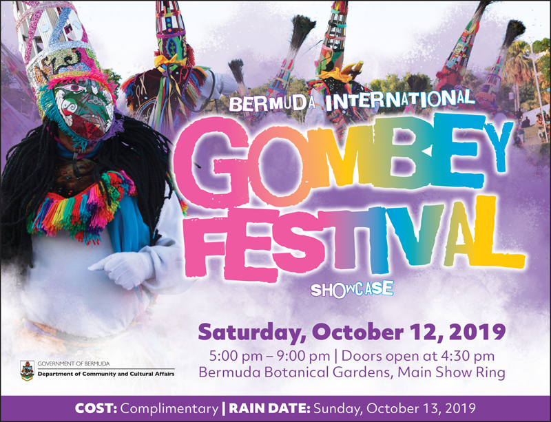 Gombey Festival Bermuda October 2019
