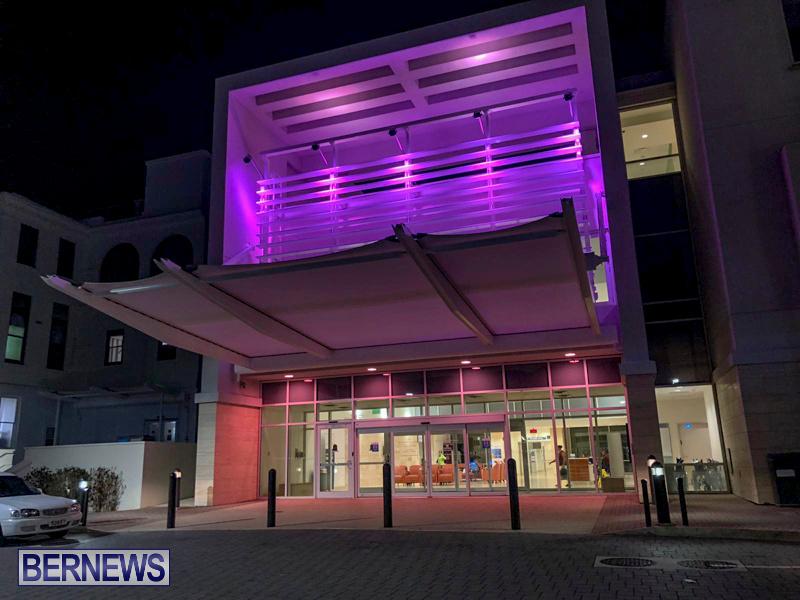 King Edward Memorial Hospital KEMH Pink Bermuda, October 1 2019-02-4