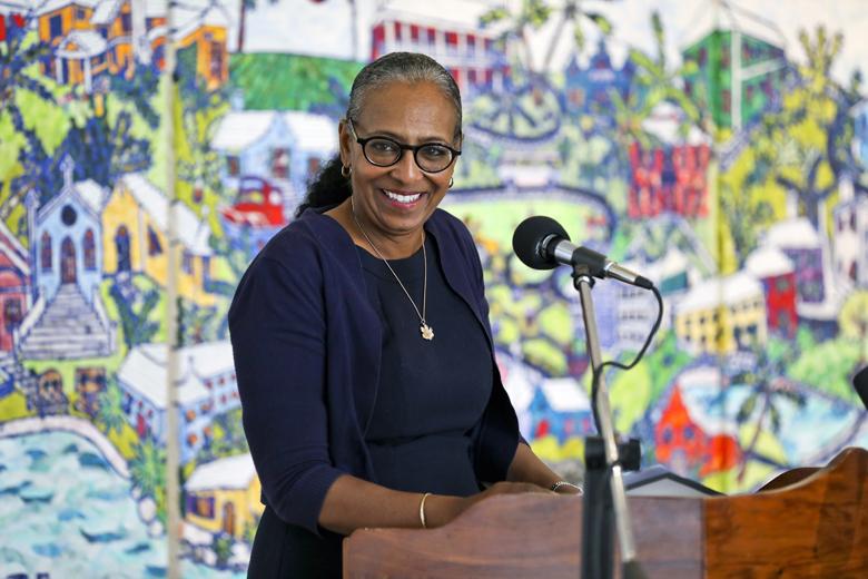Minister Lovitta Foggo Bermuda Oct 2019