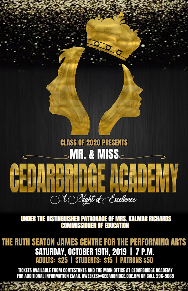 Mr & Miss Cedarbridge Bermuda Oct 2019