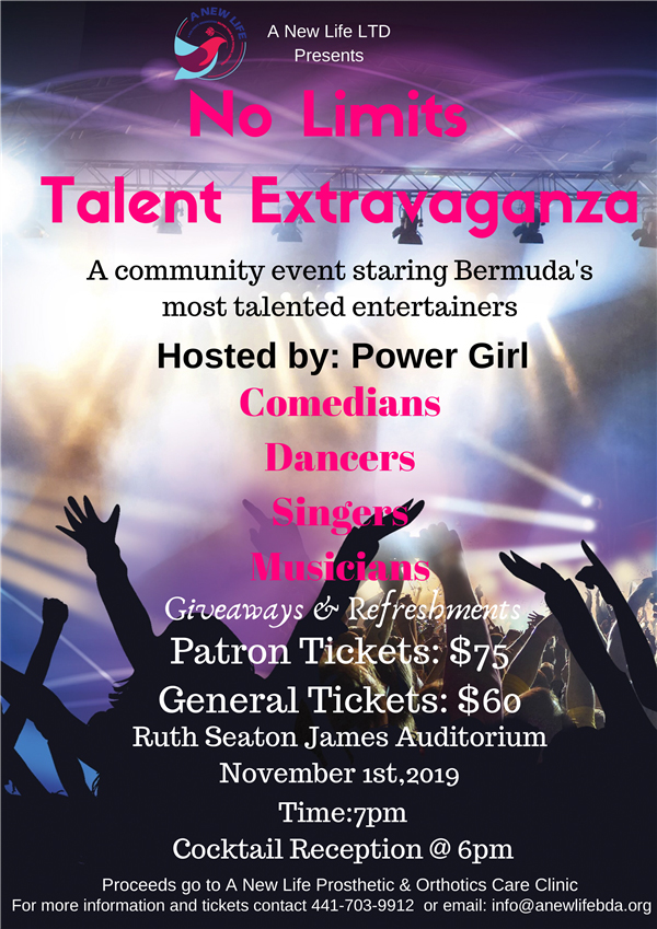 No Limits Talent Extravaganza Bermuda Oct 2019