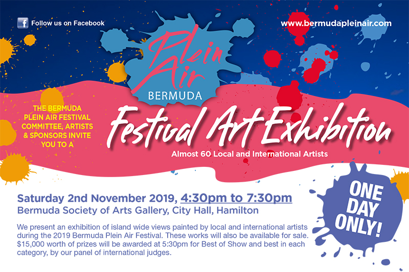 Plein Air Festival Bermuda Oct 2019