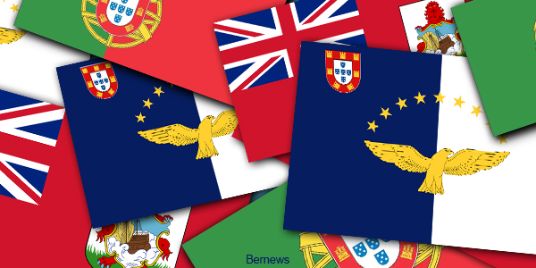 Portuguese Azores Bermuda Flags generic AnjWahNk TWFB