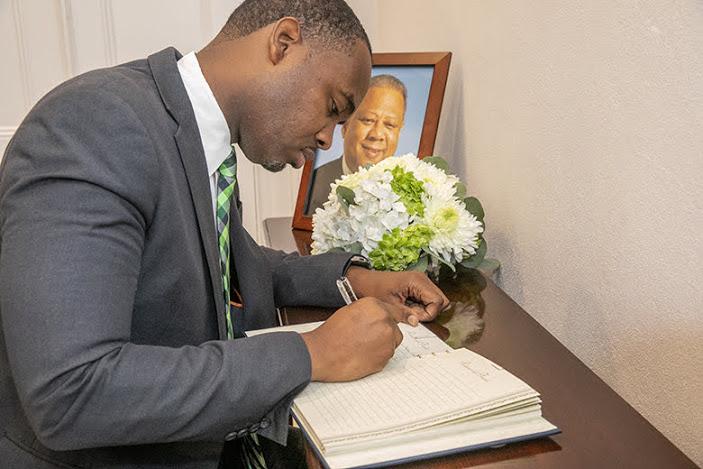 Premier David Burt Bermuda October 2019