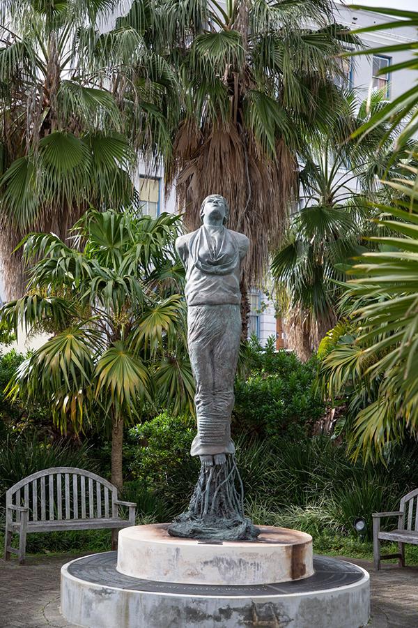 Sally Bassett Statue Bermuda Oct 2019