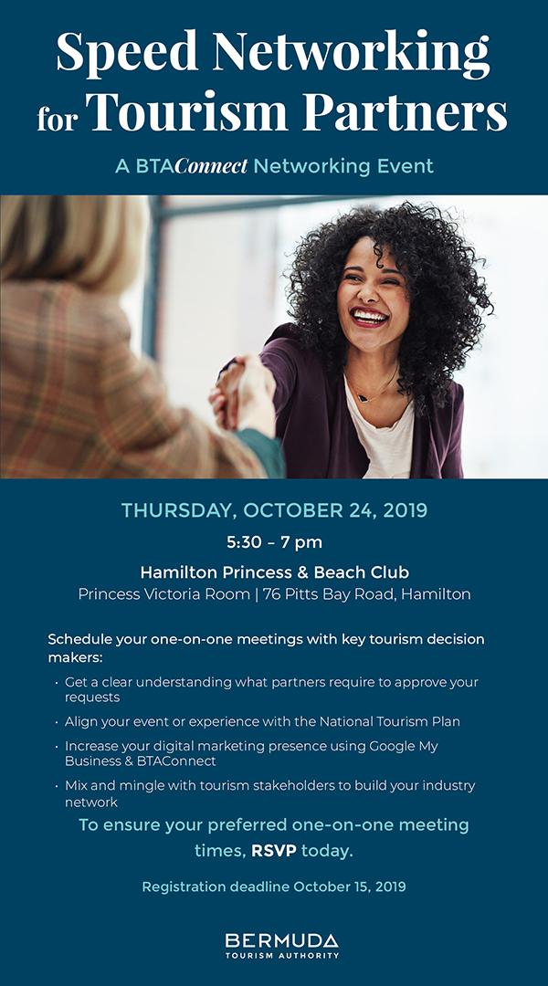 Speed Networking Event Bermuda Oct 2019