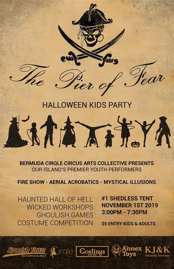 The Pier Of Fear Kids Halloween Party Bermuda Oct 2019