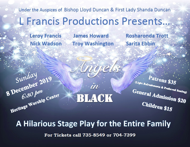 Angels In Black Stage Play Bermuda Nov 2019