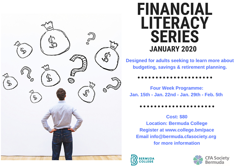 CFASB Financial Literacy Bermuda Nov 2019