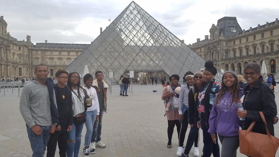 CedarBridge Academy Students Visit France (1)