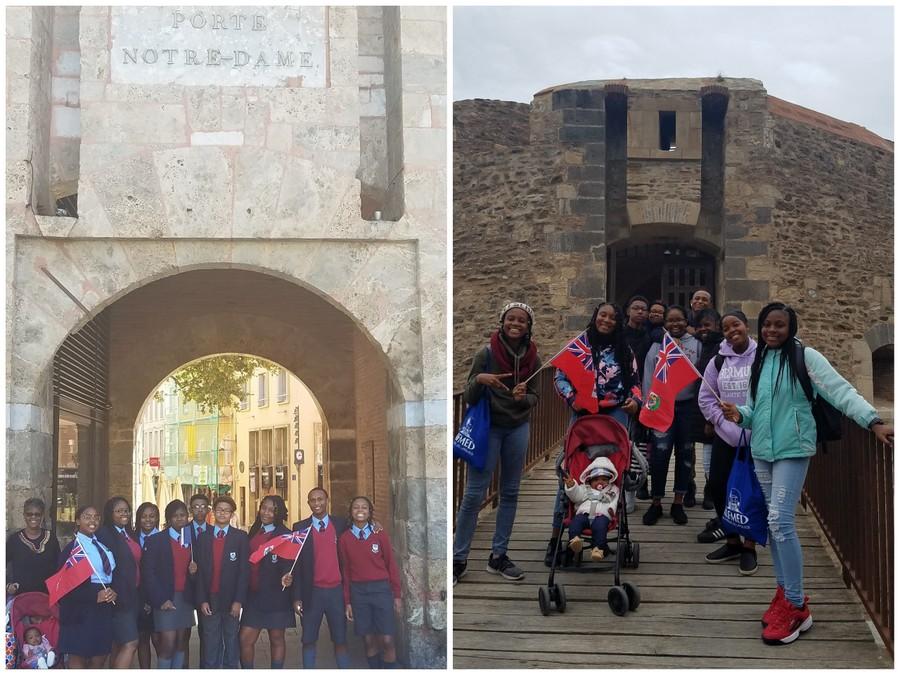 CedarBridge Academy Students Visit France (3)