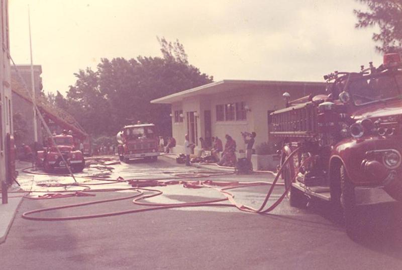 Fire At Saltus In 1977 Bermuda Nov 2019