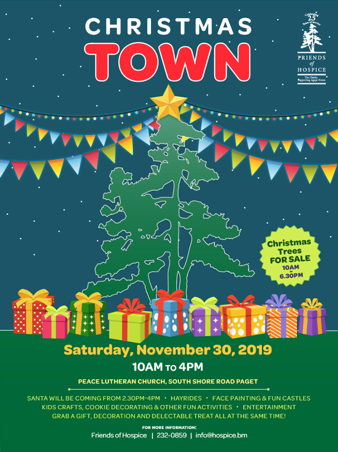 Friends Of Hospice Christmas Town Bermuda Nov 2019