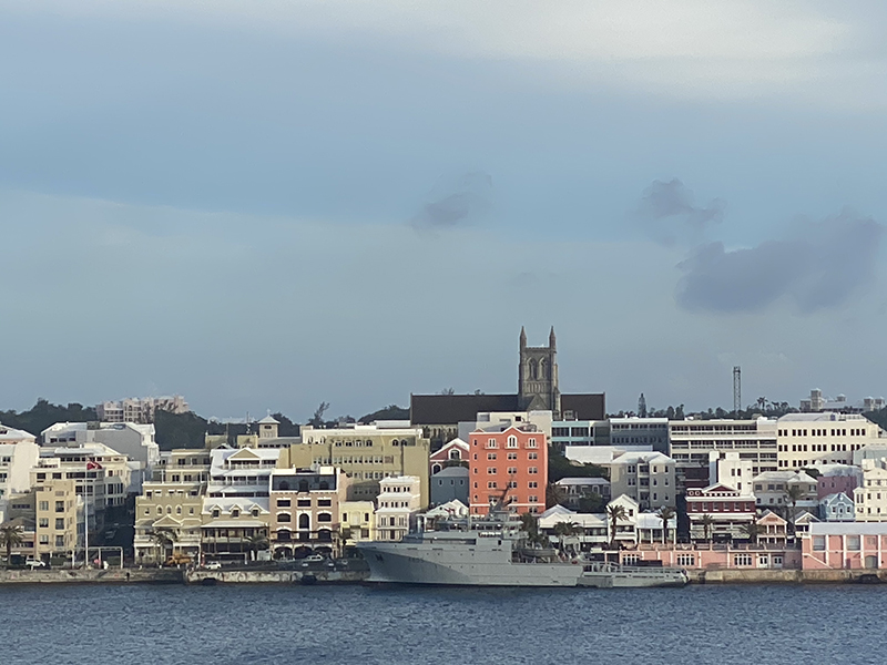 Garonne French Navy Ship Bermuda Nov 2019 (1)