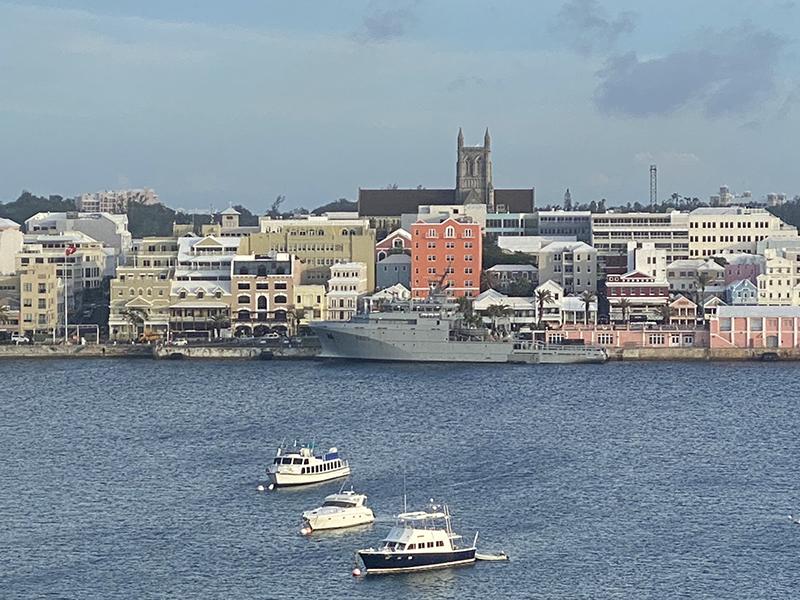 Garonne French Navy Ship Bermuda Nov 2019 (2)