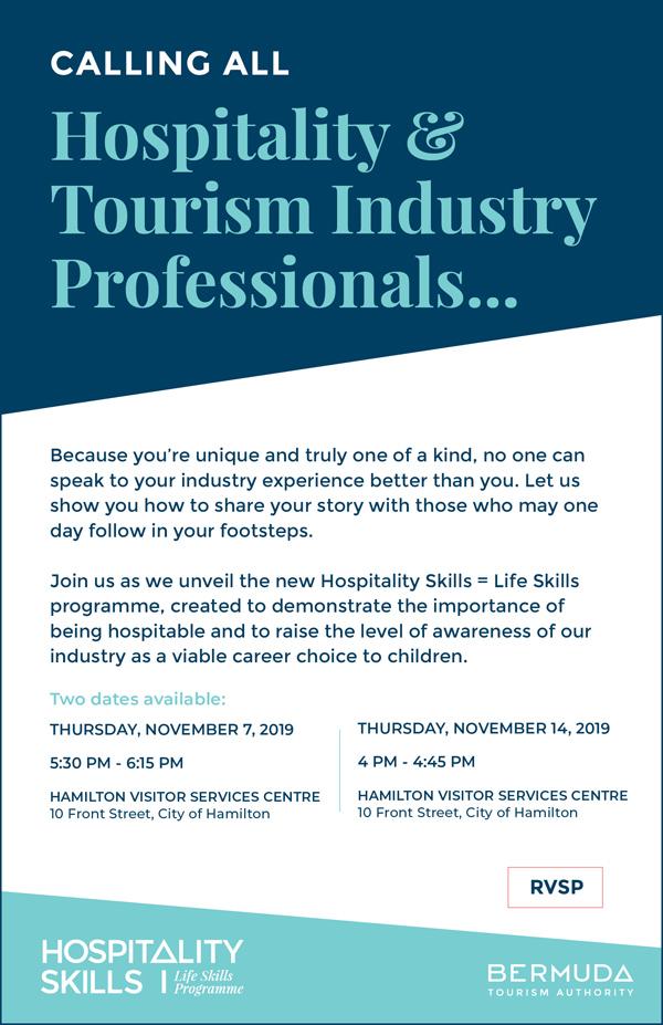 Hospitality Skills Life Skills Programme Bermuda Nov 2019