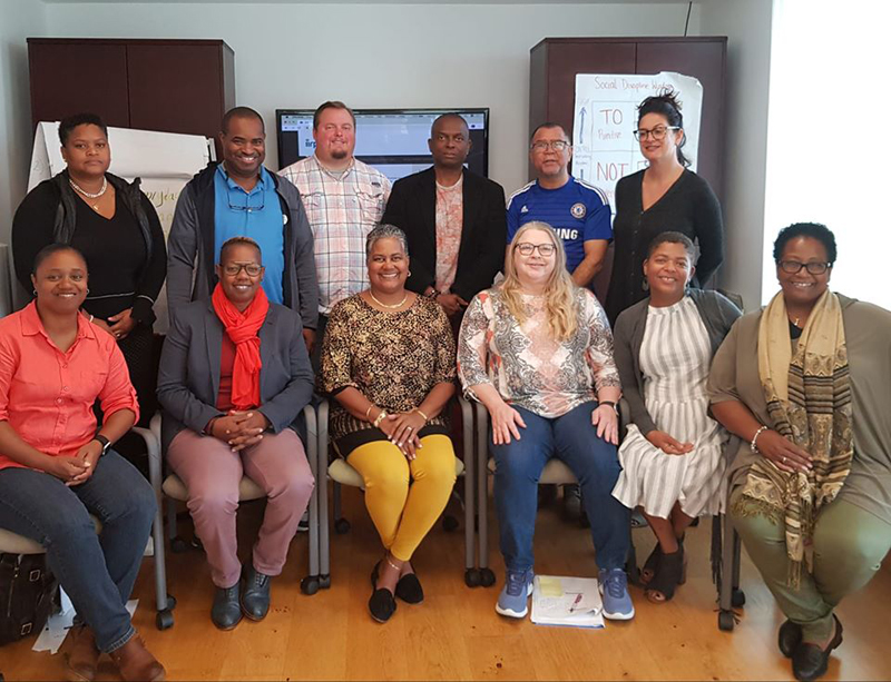 IIRP Licensed Trainers Bermuda Nov 2019