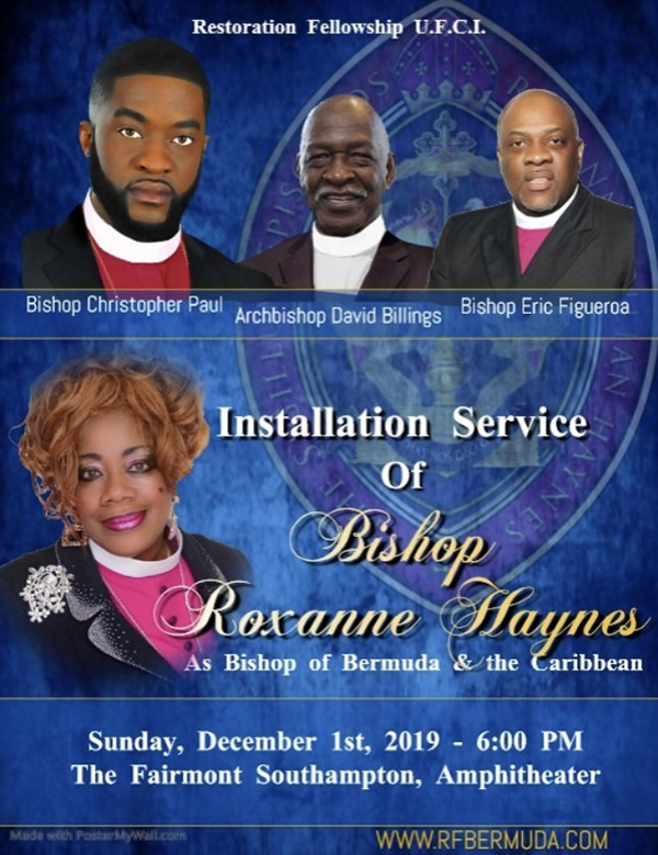 Installation Service Of Bishop Haynes Bermuda Nov 2019 (1)