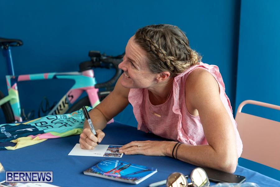 Iron Kids Card Signing triathlon champion Flora Duffy Bermuda, November 16 2019-2272