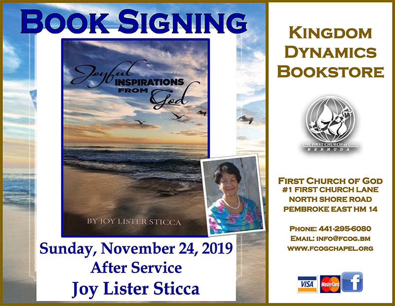 Joy Lister Sticca  Bermuda Nov 21 2019