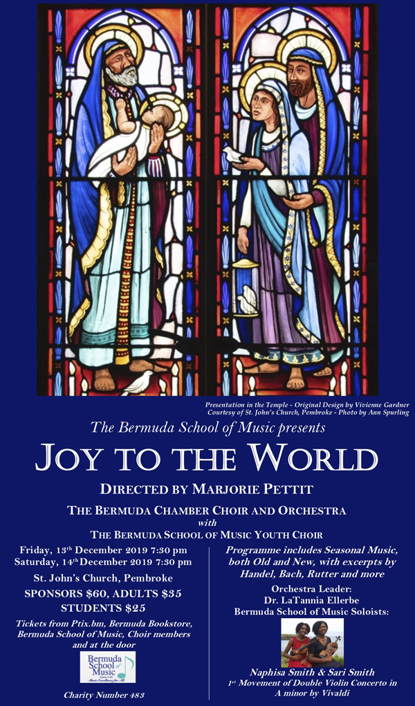Joy to the World Bermuda November 2019