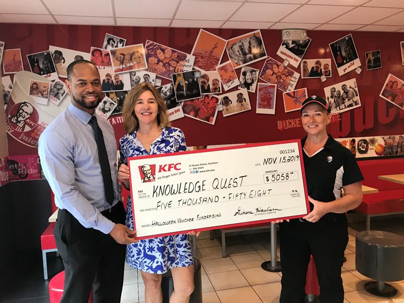 KFC Bermuda November 2019