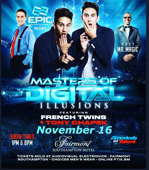 Master of Digital Illusions Bermuda Nov 2019