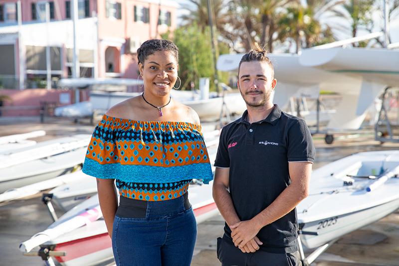 Matthew Stephens & Chanara Smith-Rookes Bermuda Nov 2019