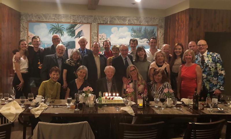 Murray McEwen 90th Birthday Celebrations Bermuda Nov 2019
