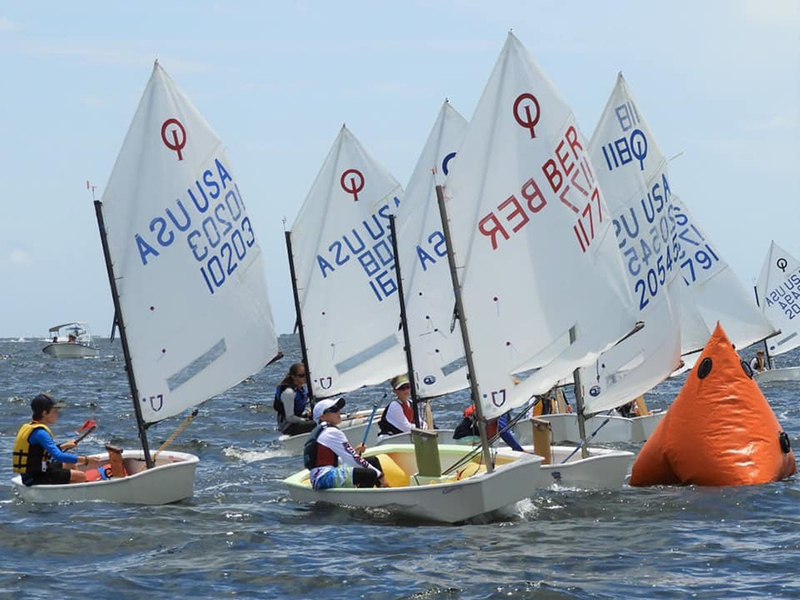 Open Optimist Championships Bermuda Nov 2019
