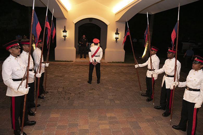 Premier David Burt President Vasco Cordeiro Reception at Rosewood Bermuda, November 2 2019 (1)