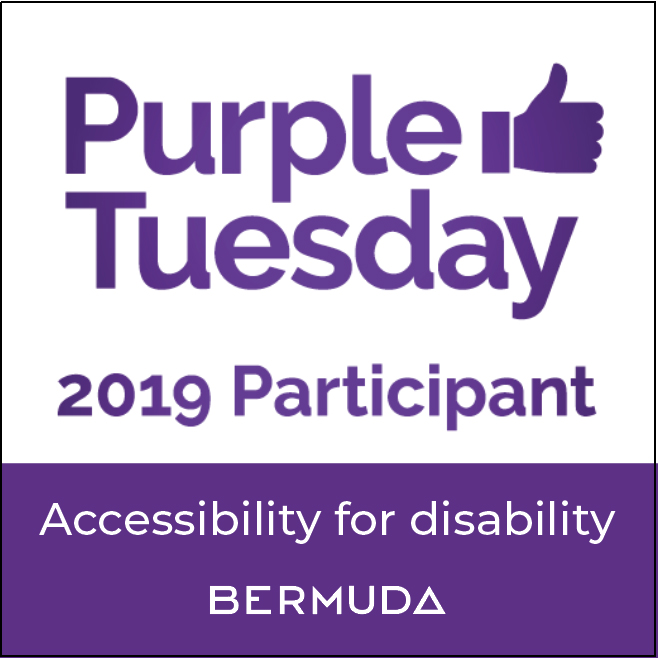 Purple Tuesday Campaign Bermuda Nov 2019