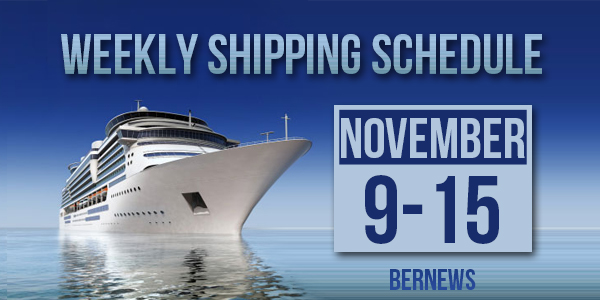 Weekly Shipping Schedule TC Nov 9 -15 2019