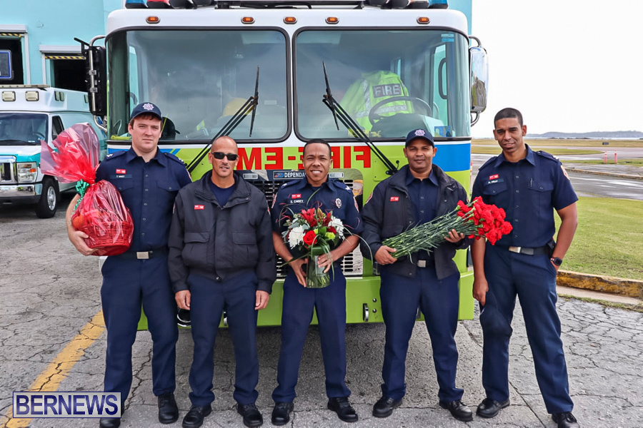 BFRS Bermuda Fire Rescue Service Christmas Community Visits Bermuda, December 25 2019-4-3