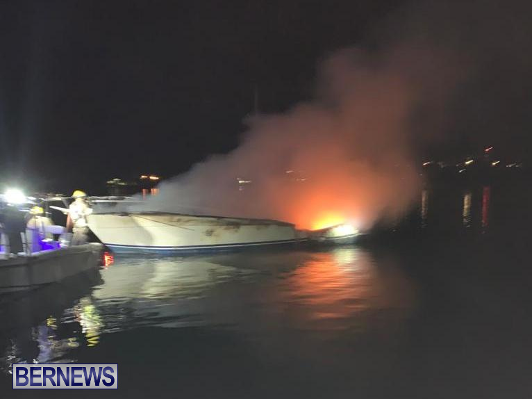 Boat Fire St David's Bermuda, December 6 2019 (6)
