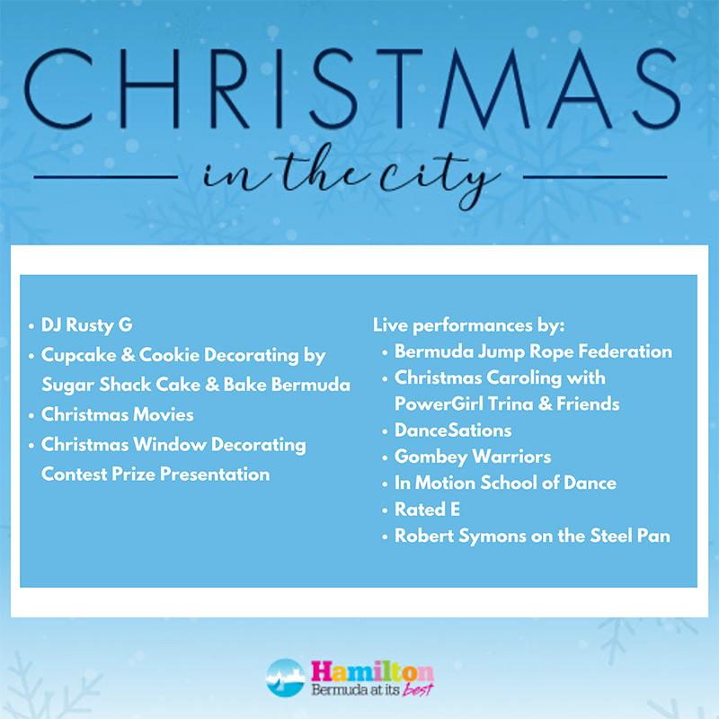 Christmas on Reid Bermuda Dec 12 2019