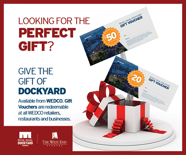 Dockyard Gift Voucher Bermuda Dec 2019