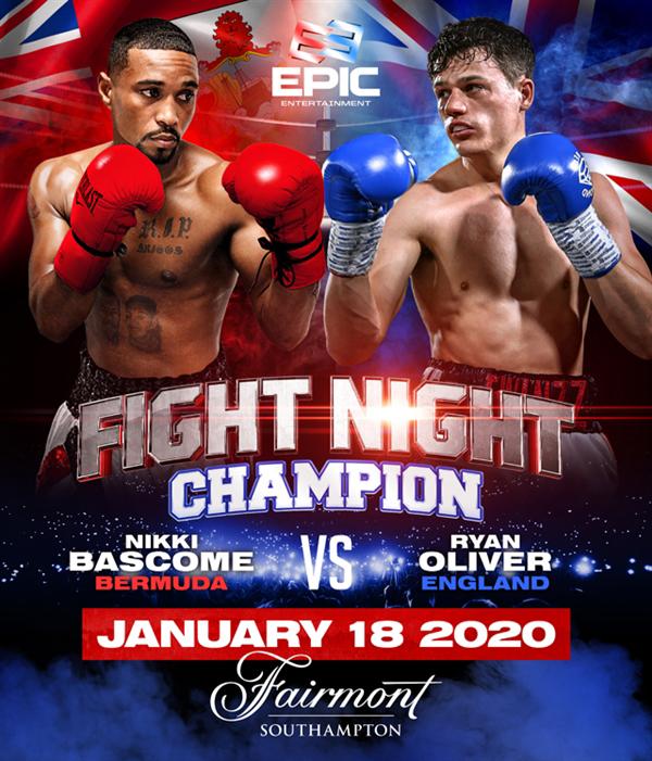 Fight Night Boxing Bermuda Dec 2019
