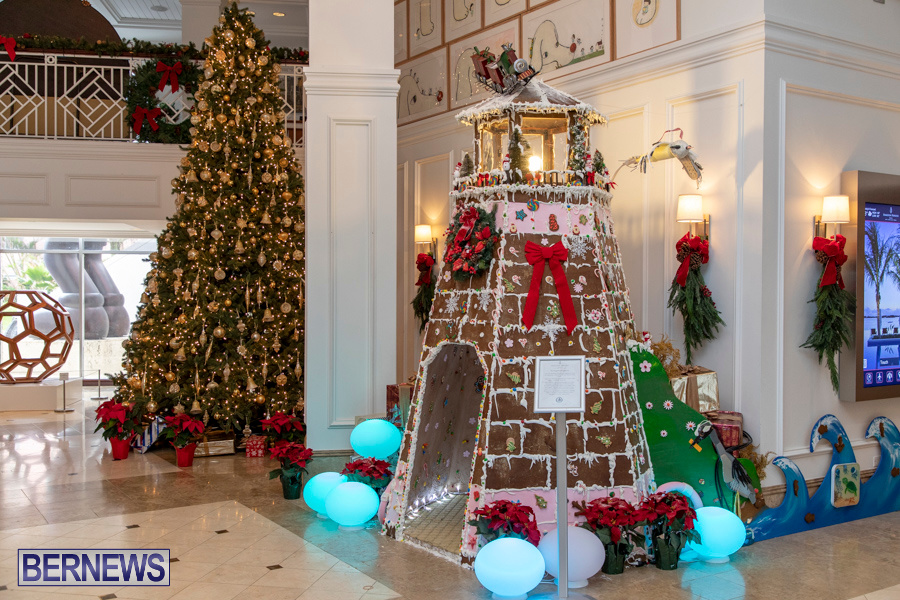 Hamilton Princess Hotel & Beach Club Gingerbread House Bermuda, December 1 2019-4836