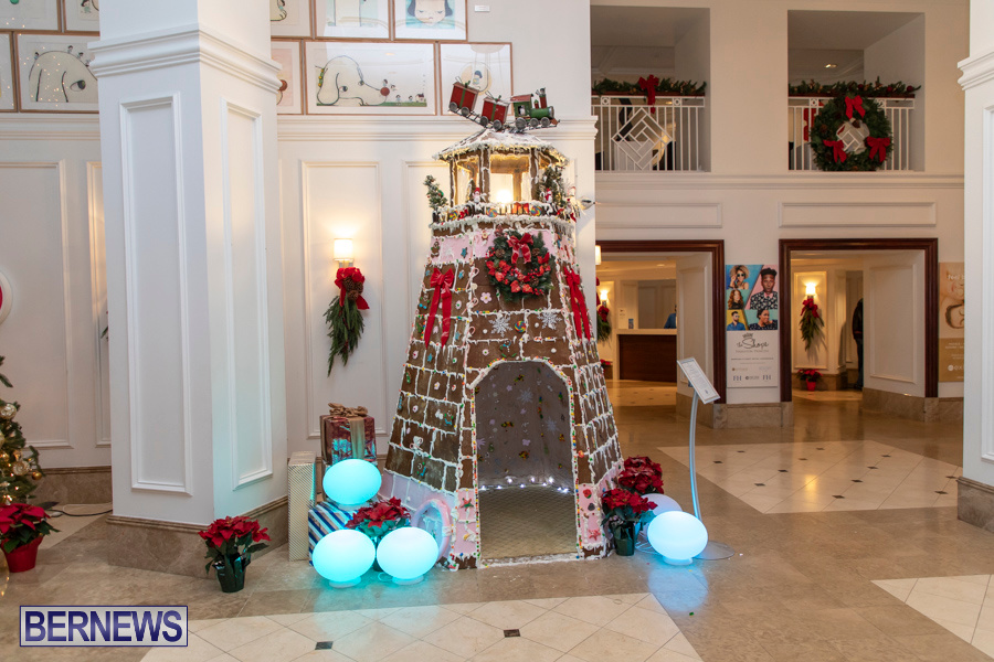 Hamilton Princess Hotel & Beach Club Gingerbread House Bermuda, December 1 2019-4838
