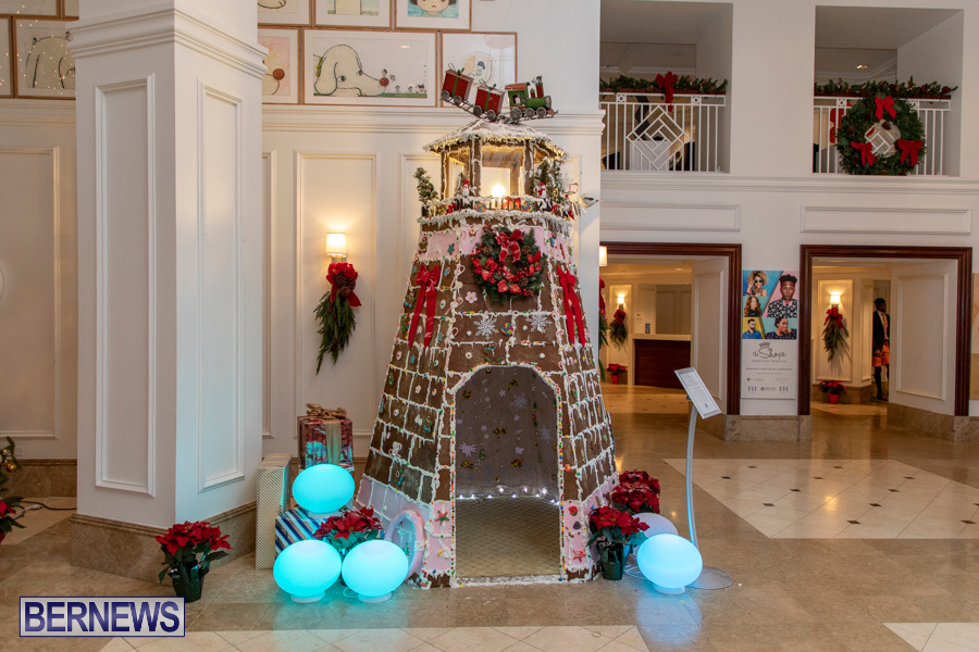 Hamilton Princess Hotel & Beach Club Gingerbread House Bermuda, December 1 2019-4840