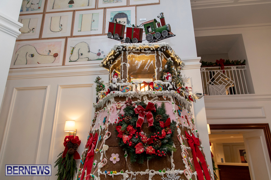Hamilton Princess Hotel & Beach Club Gingerbread House Bermuda, December 1 2019-4843